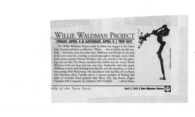 Willie Waldman Review from the Ripsaw News