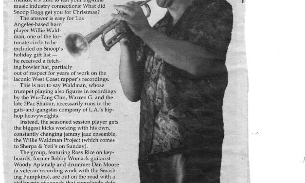 A magic trumpet ride
