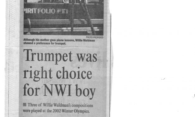 Trumpet was right choice for NWI boy