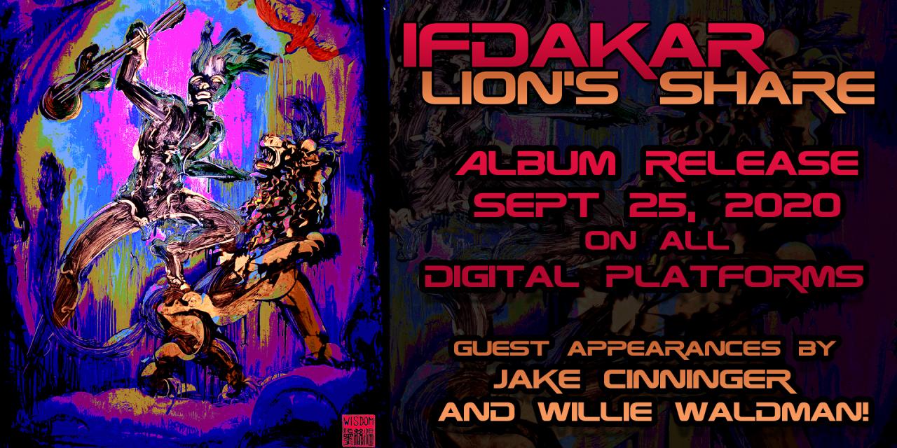 APPLETON ROCK BAND IFDAKAR TEAMS UP WITH UMPHREY'S MCGEE GUITARIST Jake Cinninger ON NEW RECORD