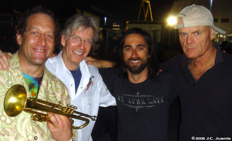 Phil Lesh and Friends Live at NASA Ames Research Center on 2008-04-12